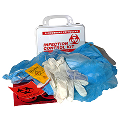 INFECTION CONTROL KIT W/CPR, HART, POLY-BOX, KIT