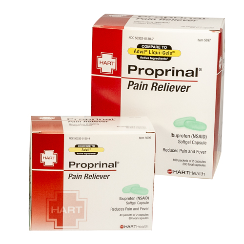 Proprinal Softgel, Pain Reliever, HART Industrial Pack