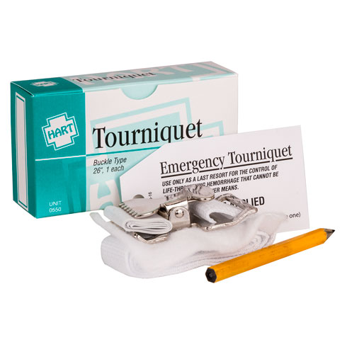 Tourniquet, HART, nylon with metal clasp 1/unit