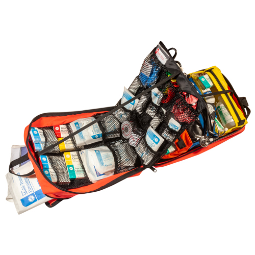 Backpack EMT Trauma Kit, HART, Stocked