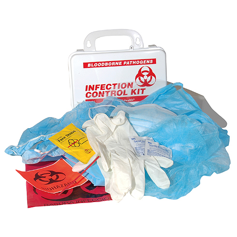 Infection Control Kit w/CPR, HART, poly box